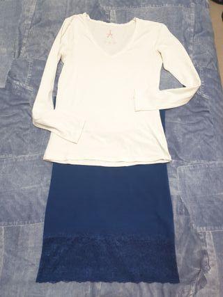 Falda y Camiseta Only
