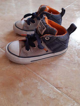 zapatillas converse número 22