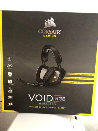 Cascos Gaming Corsair Void pro RGB Inalambricos