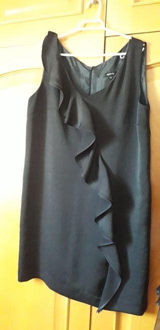 vestido de raso