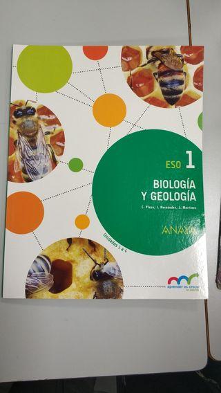 Libro Biologia y geología 1Eso