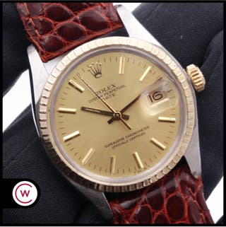 ROLEX Oyster Perpetual Date 1501 Acero y Oro