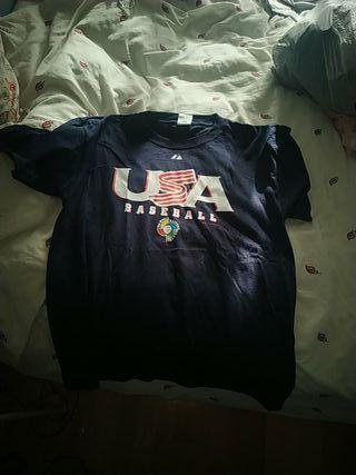 camiseta baseball USA