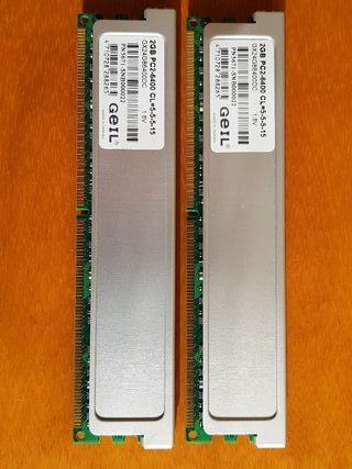 Memoria RAM DDR2 GEIL 6400