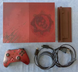 Xbox One S - 2 Tb Gears of war edition + Syberia 3