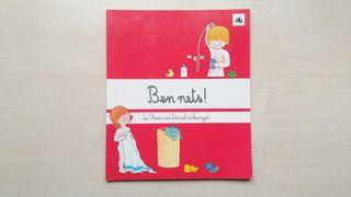 Libro Ben Nets!. La Clara i en Daniel es banyen.