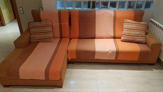 Sofa con cheslong (L'Ametlla - La Garriga)