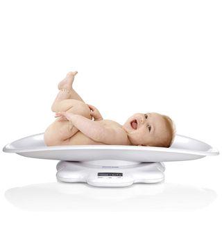 Báscula para bebes