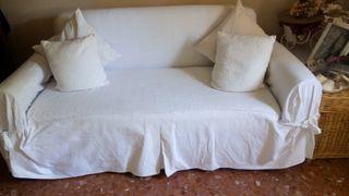 Sofa cama extensible de matrimonio-perfecto estado