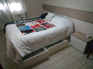cama de matrimonio con cajones