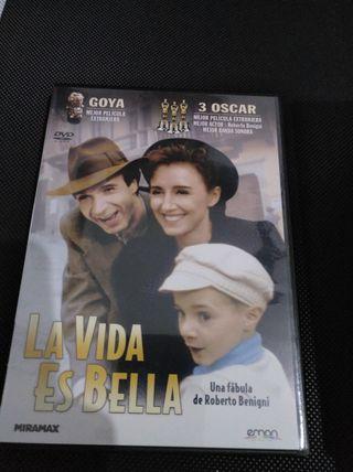 """DVD.""""La vida es bella"""" Nuevo- Cine- película"""
