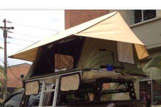 Tienda de campaña para techo de coche