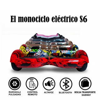 Hoverboard S6 // Patinete Autoequilibrio SABWAY