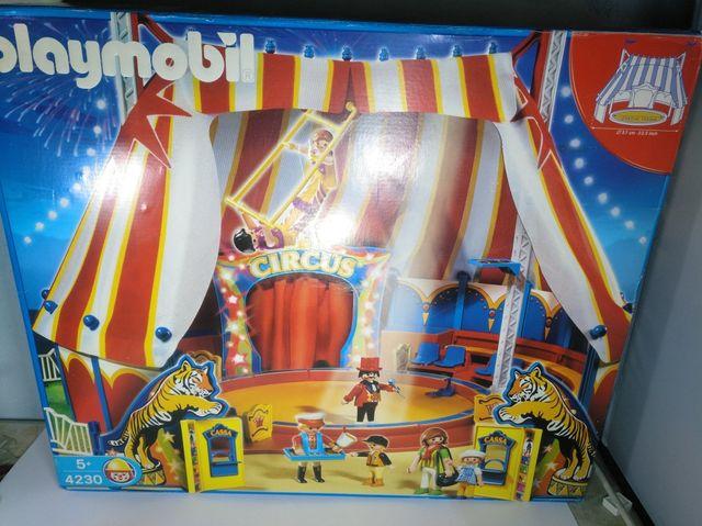 Playmobil circo carpa roja