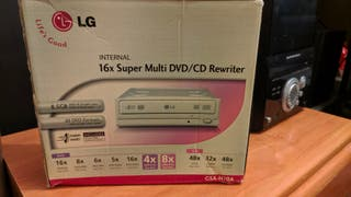Grabadora DVD LG para torre ordenador