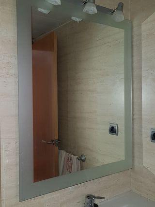 Espejo de baño con 3 luces