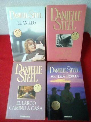 Lote Danielle Steel x 8€