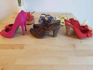 lote de zapatos talla 36