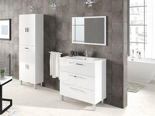 Columna de baño blanca . Ref: 810368 . Nuevo