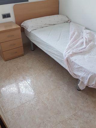 Habitación individual completa muebles nuevos