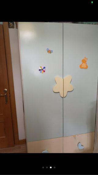 Conjunto habitación niño