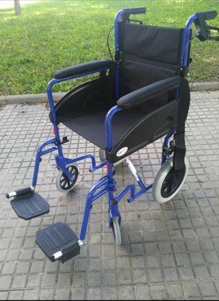 silla de ruedas aluminio