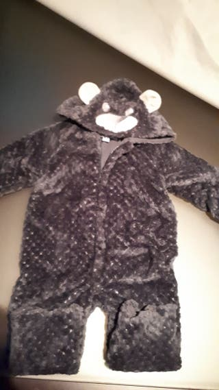 buzo peluche abrigo bebé