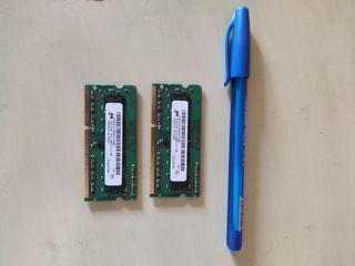Ram 2x2Gb (4gb) portátil