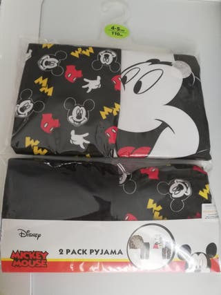 Pijamas Mickey Mouse 4 - 5 años