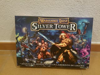 juego warhammer Silver Tower