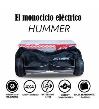 Hoverboard Hummer S8 // Autobalance