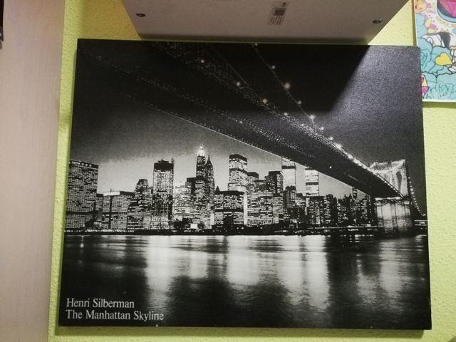 Cuadro Nueva York. Manhattan skyline