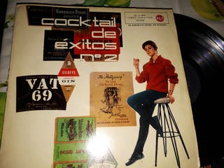 vinilo COCKTAIL DE EXITOS Nº 2