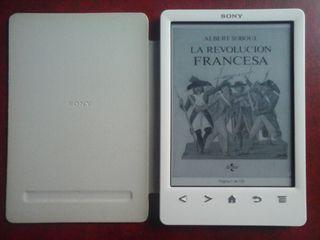 Libro electrónico Sony Reader PRS-T3 blanco.