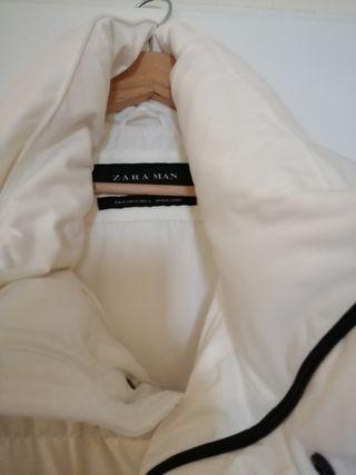 Abrigo Plumas blanco sin estrenar