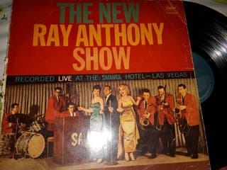 vinilo The New Ray Anthony Show (Recorded Live At