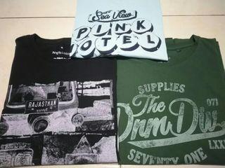 Lote 3 camisetas Angelo Litrico