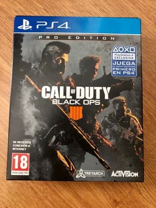 BLACK OPS 4 PRO EDITION - PS4