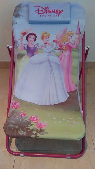 mini tumbona plegable disney princess