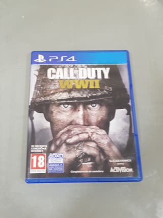 Vall le duty WWII PS4