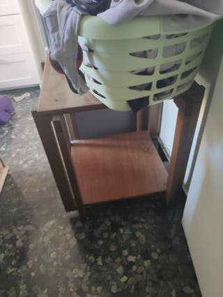 mesa con rueda