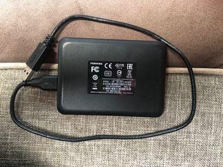 Disco duro externo Toshiba 1TB
