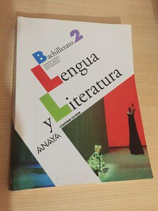 Lengua y Literatura. 2 bachillerato. Anaya