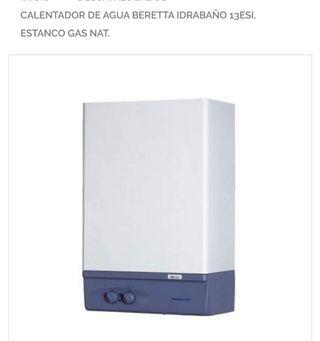 CALENTADOR DE AGUA GAS NATURAL (BERETTA)
