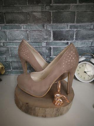 zapatos de tacón 37