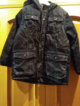 chaqueta 8 años pana y plumon talla 122