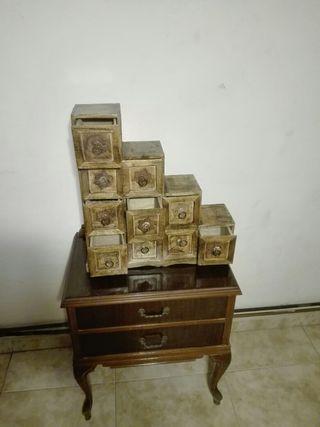Cajoncitos de madera vintage