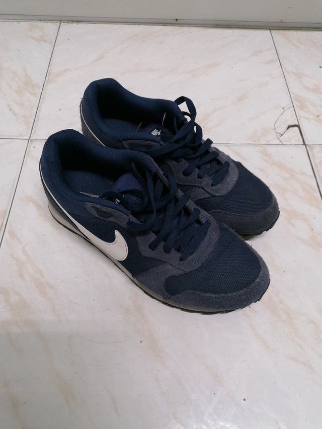 el centro comercial Reunión melocotón  Zapatillas Nike chico de segunda mano por 20 € en Albacete en WALLAPOP