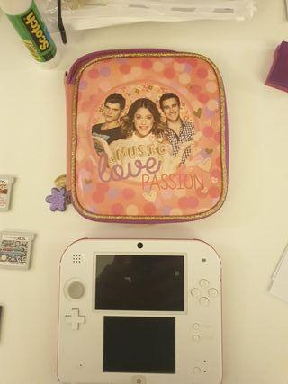 Nintendo 2DS + funda 2DS
