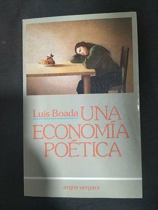 Una economía poética de Luis Boda.